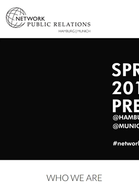 NETWORK PUBLIC RELATIONS HAMBURG MUNICH